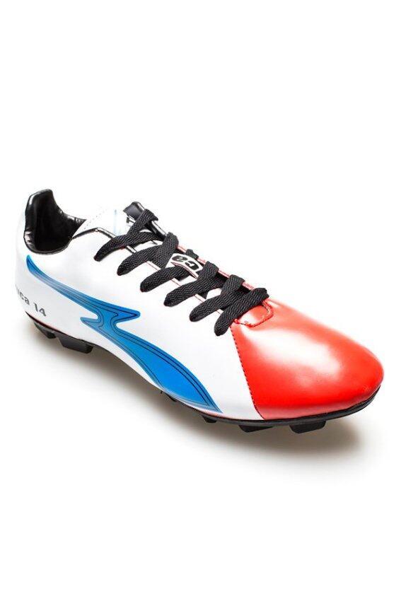เทพกีฬาKITO รองเท้ากีฬา FOOTBALL รุ่น FM9108 - ขาว/แดง