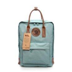กระเป๋า Fjallraven Kanken No.2 Classic Turquoise นำเข้าจากสวีเดน (สีเทอร์ควอยซ์)