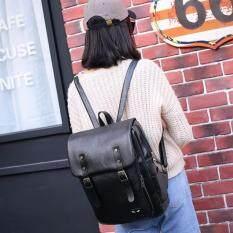 กระเป๋าเป้สะพายหลังผู้หญิง รุ่น BMA010 (สีดำ)