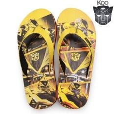 Kuqiaqia Shishang ลื่นรองเท้าแตะ (t04 Kuqiaqia Transformers) ราคา 382 บาท(-43%)