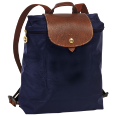 Longchamp กระเป๋า Le Pliage Backpack - Navy