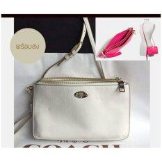 LYLA DOUBLE GUSSET CROSSBODY IN PEBBLE LEATHER (F53157) image