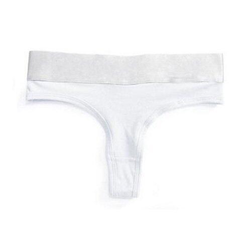 สาวเซ็กซี่สายเดี่ยวกางเกงผู้หญิงร้อนจีสตริงกางเกงในกางเกงในกางเกงในไร้ตะเข็บขาว M (ในประ ...