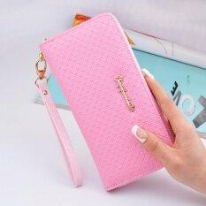 Marverlous กระเป๋าสตางค์ใบยาว กระเป๋าเงินผู้หญิง W-87 - Pink ราคา 179 บาท(-74%)