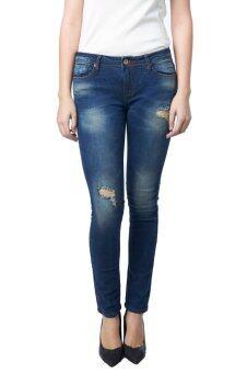 Mc Jeans กางเกงยีนส์ทรงขาเดฟ MAD716400