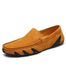Mens New Fashion Breathable Leisure Comfortable Peas Shoes - Intl ราคา 897 บาท(-46%)