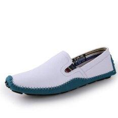 Mens New Fashion Breathable Leisure Comfortable Peas Shoes - Intl ราคา 971 บาท(-47%)