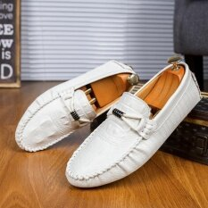 Mens New Fashion Breathable Leisure Comfortable Peas Shoes - Intl ราคา 856 บาท(-46%)