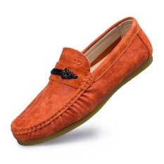 Mens New Fashion Breathable Leisure Comfortable Peas Shoes - Intl ราคา 872 บาท(-46%)