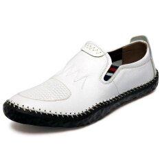 Mens New Fashion Breathable Leisure Comfortable Peas Shoes - Intl ราคา 922 บาท(-46%)