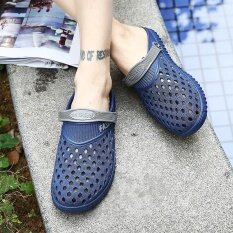 Mens Personality Comfortable Non-Slip Leisure Trend Daily Wear-Resistant Sandals - Intl ราคา 485 บาท(-42%)