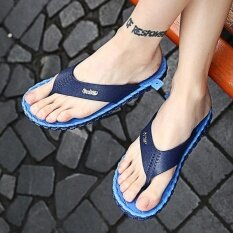 Mens Personality Comfortable Non-Slip Leisure Trend Daily Wear-Resistant Sandals - Intl ราคา 518 บาท(-42%)