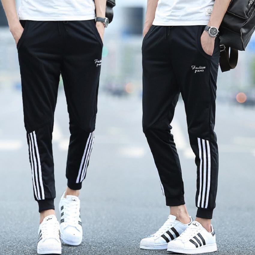 Mod กางเกงขายาว ลำลอง ผู้ชาย (สีดำ) รุ่น 020