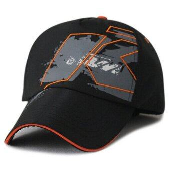 MOTO.GP KTM Baseball Hat Peaked Cap Sport Hat (Black)