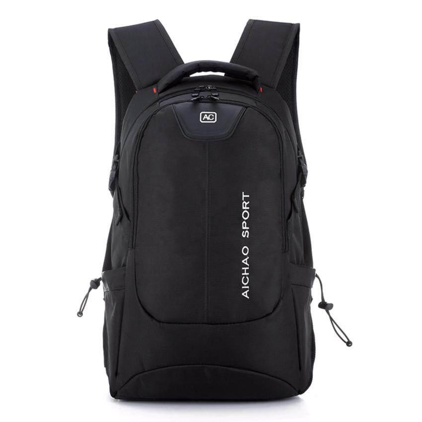 Must Have กระเป๋าสะพายหลัง กระเป๋าเป้เดินทาง กระเป๋าเป้ผู้ชาย (Black)