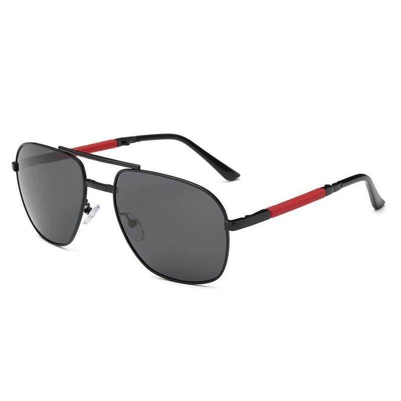 New Men Polarized Sunglasses Fashion Folding Sun Glasses Wholesale A345 Glasses Driving Mirror UV400 - intl
