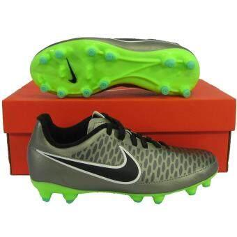 Nike รองเท้ากีฬา รองเท้าสตั๊ดเด็ก NIKE 651653-010 JR MAGISTA ONDA FG เงิน เบอร์ US 2Y