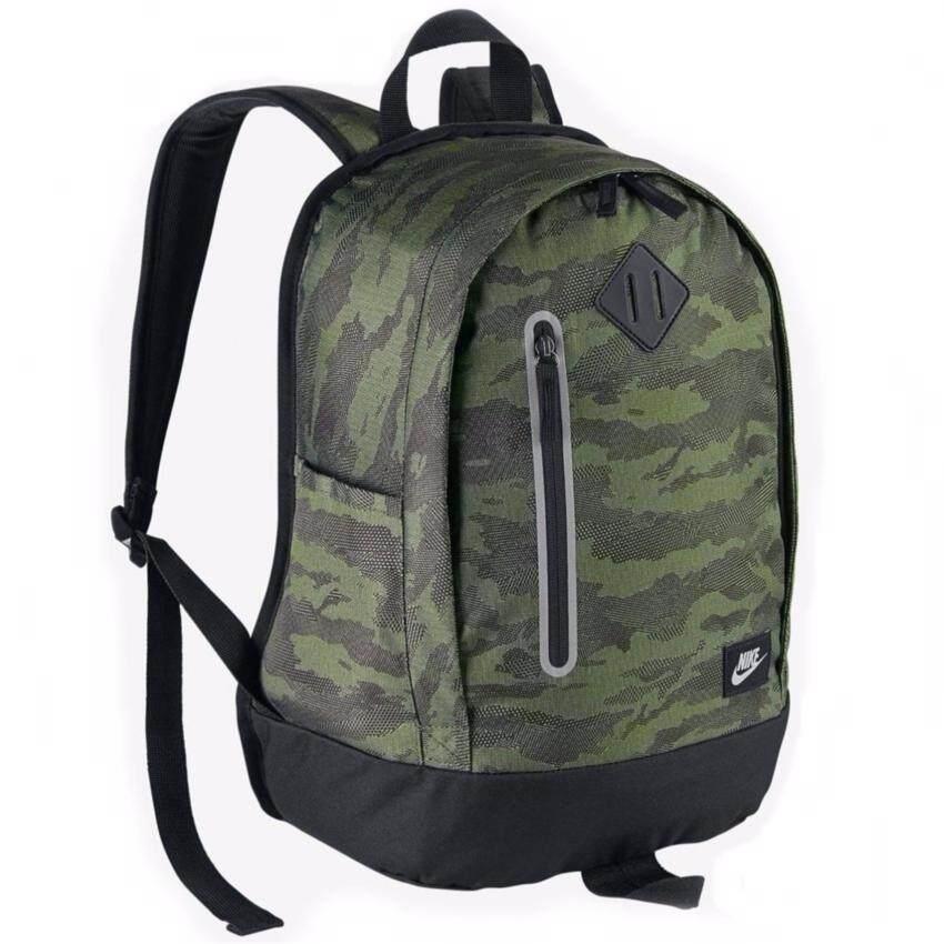 ขาย Nike กระเป๋าเป้ Nike Cheyenne Print Backpack 20L BA5223-387 (Palm Green)