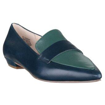 NINE WEST รองเท้าโลฟเฟอร์ Truethat รุ่น301036600L - greenblue