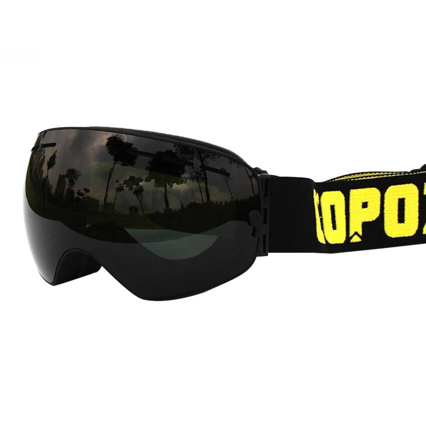 OEM BlackB new brand of professional ski goggles, UV400 lenses anti-fog double major ski ...