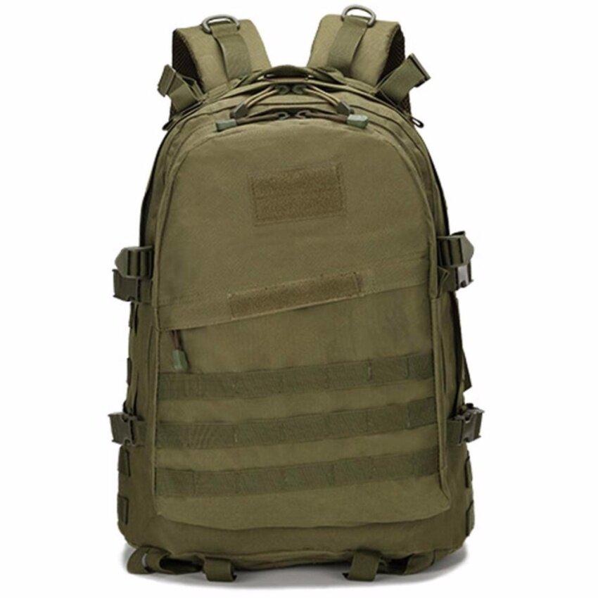 Otzi กระเป๋าเป้ทหาร กระเป๋าเป้สะพายหลัง แบ็คแพ็ค กันน้ำ สีเขียว