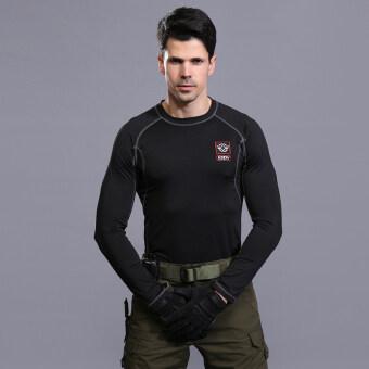 Outdoors Tactical T-Shirt Men Army T-shirt Military T-shirt Dry Sport Tee Shirts