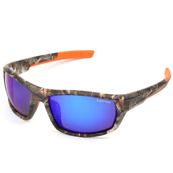 Polarized Casual Sports Sunglasses for Driving Fishing Hunting Golf Unbreakable Frame Blue