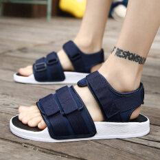 ฤดูร้อนบุคลิกภาพชายฤดูร้อนกลางแจ้งรองเท้าแตะ (สีฟ้า) ราคา 534 บาท(-30%)