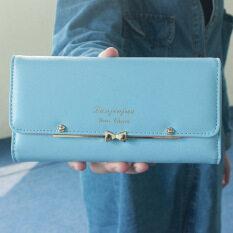 น่ารักญี่ปุ่นและเกาหลีใต้หัวเข็มขัดนักเรียนกระเป๋าสตางค์ใหม่นางสาวกระเป๋าสตางค์ (ท้องฟ้าสีฟ้า) ราคา 191 บาท