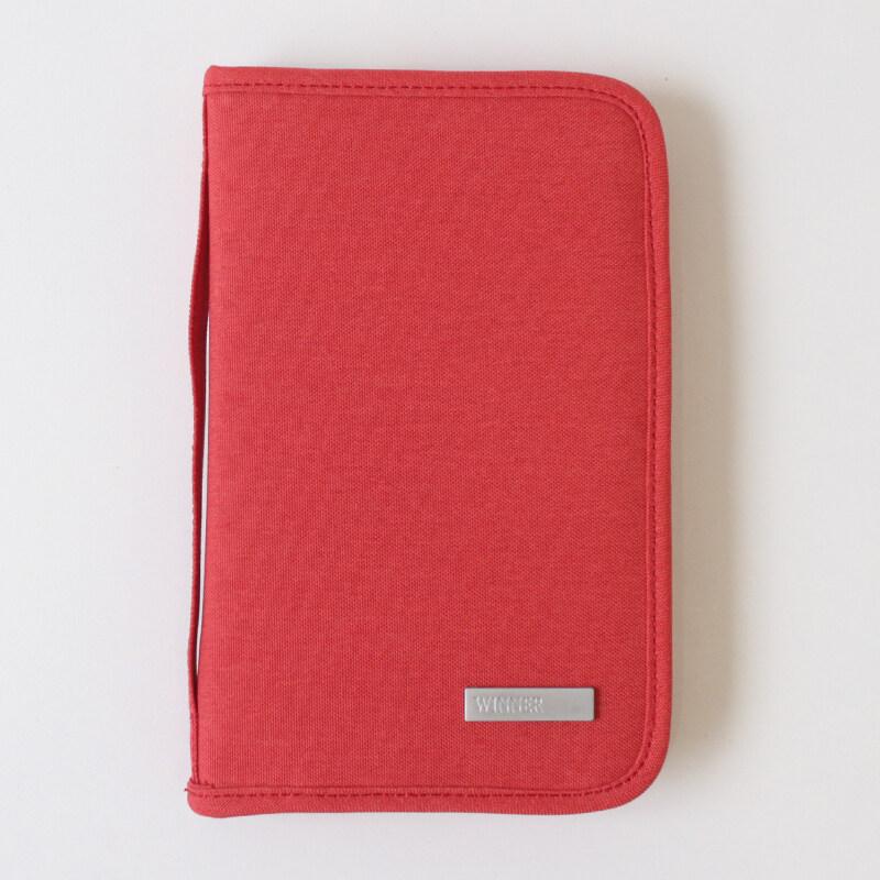 มัลติฟังก์ชั่ผู้ชายนางสาวกันน้ำแพคเกจบัตรแพคเกจเอกสาร (ขนาดใหญ่สีแดงแตงโมแบบพกพาถุงซิปถุง) (ขนาดใหญ่สีแดงแตงโมแบบพกพาถุงซิปถุง)