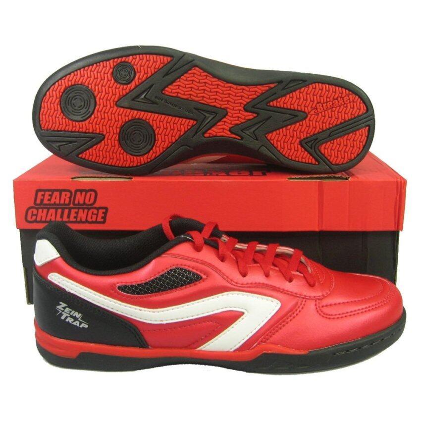 สุดยอด รองเท้ากีฬา รองเท้าฟุตซอล BREAKER BK-1101 ZEIN TRAP แดง ซื้อเลย