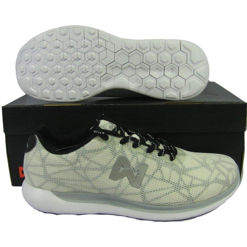 รองเท้าวิ่ง รองเท้าจ๊อกกิ้ง WARRIX WF-1301 ขาว