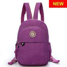 RICHCOCO กระเป๋าเป้สะพายหลัง Nylon leisure Backpack (K01-new Violet)