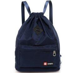RICHCOCO กระเป๋าเป้สะพายหลัง Nylon leisure Backpack (K10-BU)