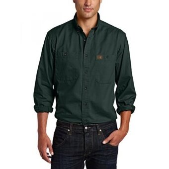 RIGGS WORKWEAR by Wrangler Mens Logger ShirtForest Green - intl