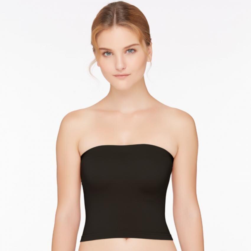 Sabina เสื้อชั้นในเกาะอก Easy Soft Bra รหัส SCZ473 สีดำ 2 ชิ้น