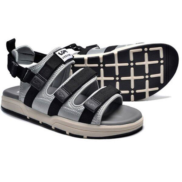 Summer Casual Shoes Casual Couple Sandals Men Sandals Slippers (Grey) - intl ...
