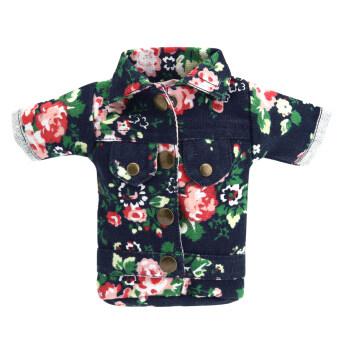 T-Shirt/Pants Shape Multi-Function Women Canvas Mini Wallet Purse - Intl
