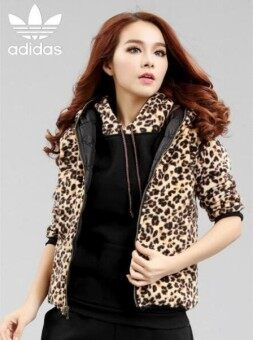 The Trend of Spring and Autumn Korean Thin Long Sleeved Sport Leopard Sweater - intl