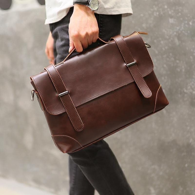 Tidog Korean men's casual handbag briefcase business bag - intl. >>>>