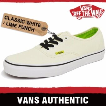 Vans Authentic POP สี Classic White