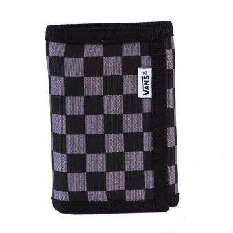 Vans กระเป๋า แวน Wallet Slipped VN000EJAK0J BK/GRY (650)