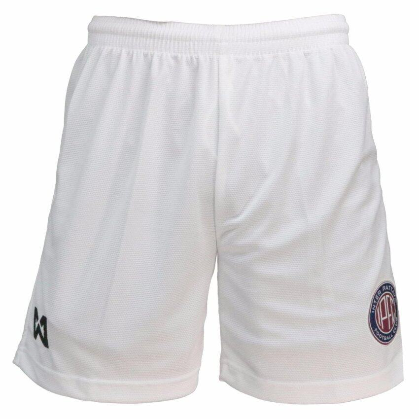 WARRIX SPORT กางเกงฟุตบอล สโมสรอินเตอร์พัทยา WP-16IP-50M (สีขาว)