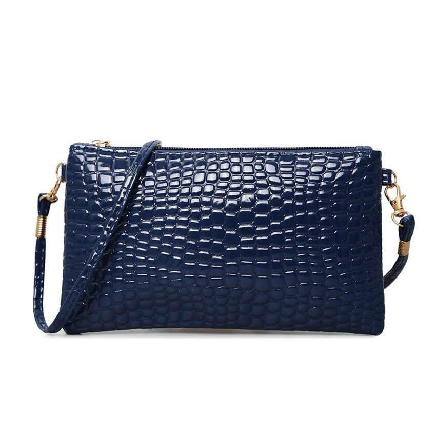 Wonderful Story กระเป๋า กระเป๋าสะพายข้างสำหรัdหญิง No.0508 - Blue ...