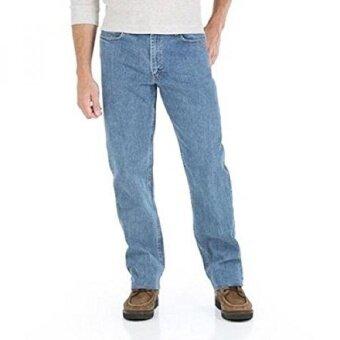 Wrangler Mens Advanced Comfort Relaxed Fit Jeans- 9VRLADI- Mens Jean (32X30 Mid Stonewash) - intl