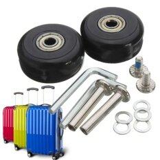 1 Pair Luggage Suitcase Replacement Wheels OD 40 x 18mm Axles 30 Repair Set - intl ส่งฟรี