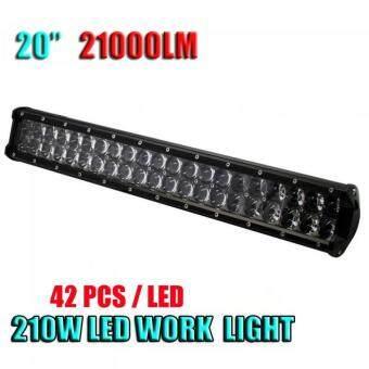 20 Inch 210W LED Light Bar Combo Beam Car Work Lamp 4WD Off-Road Driving Light