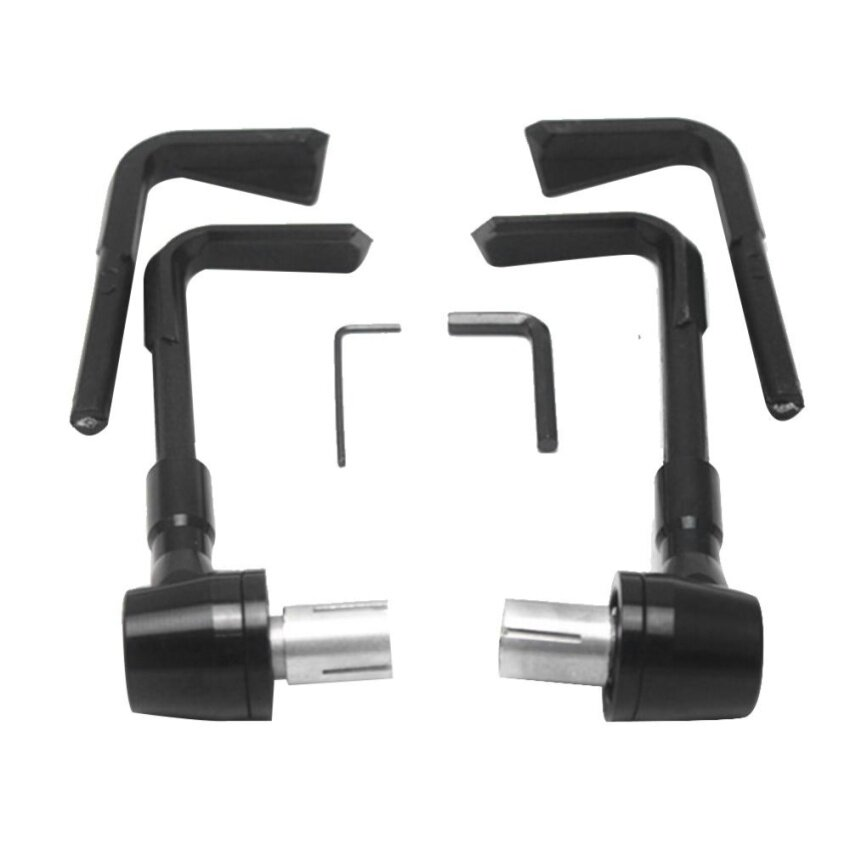 """22mm/0.87"""" Motorcycle Brake Clutch Lever Protector Hand Guard (Black) - intl"""