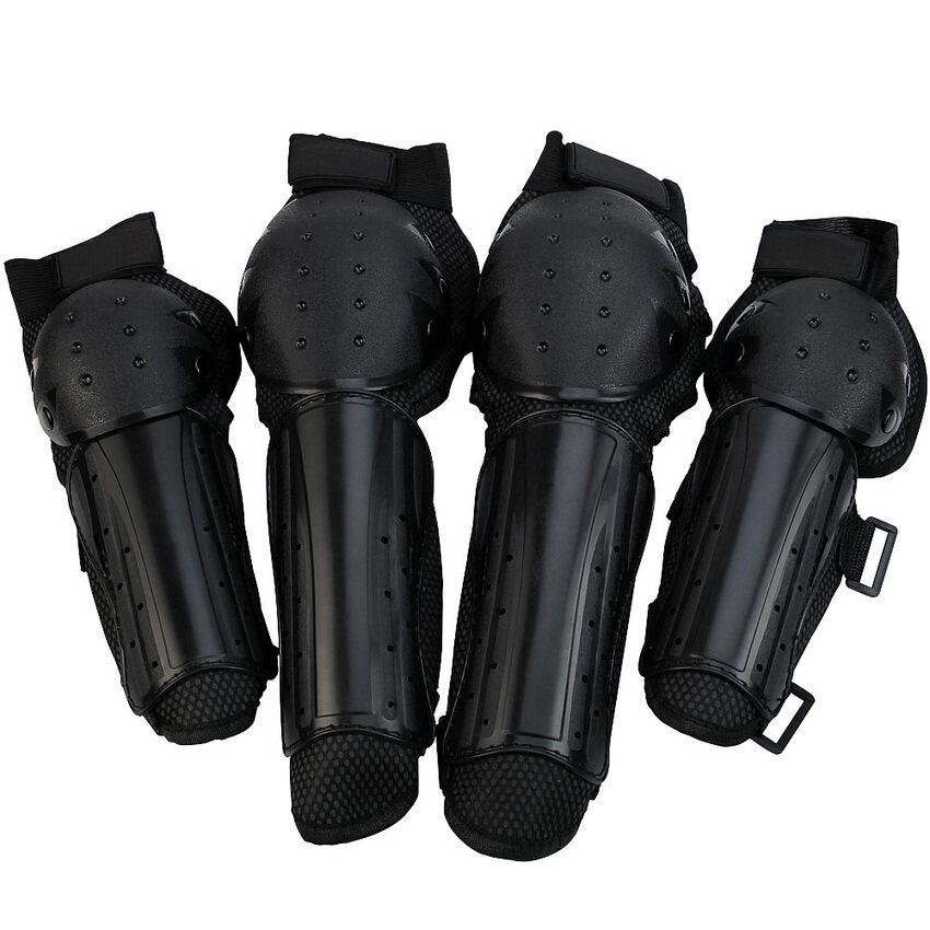 2pcs*Racing Off Road Motocross Knee Shin Elbow Guard New Protector Pads Set  - Intl