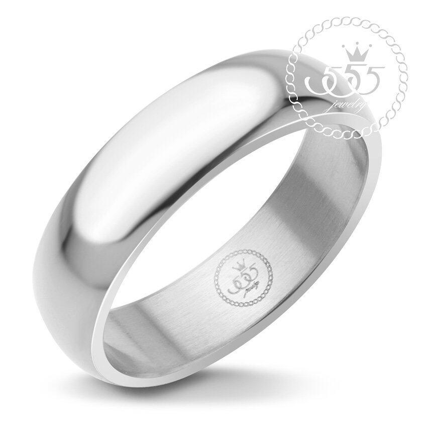 555jewelry แหวน รุ่น MNC-R161-A (Steel) ...